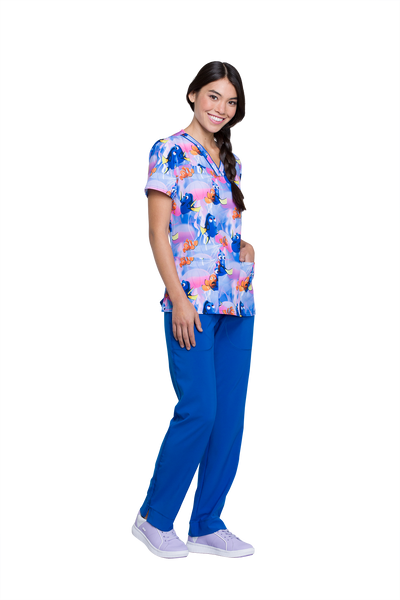 Tooniforms Jellyfish Heaven Print Top - Company Store Uniforms