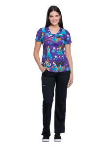 Tooniforms Jasmine and Abu Print Top