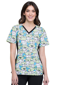 Tooniforms Alien Life Form Print Top - Company Store Uniforms
