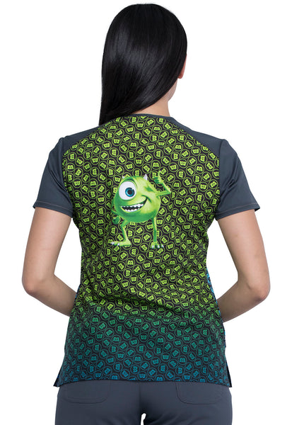 Tooniforms Monsters, Inc. Print Top - Company Store Uniforms