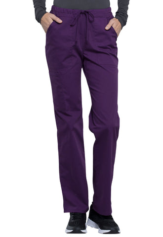 Cherokee Workwear Professionals Mid Rise Straight Leg Drawstring Pant - Company Store Uniforms