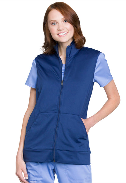 Cherokee Workwear Revolution Zip Front Vest - Company Store Uniforms