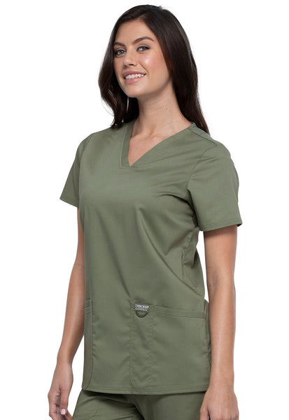 Cherokee Workwear Revolution V-Neck Top - Company Store Uniforms