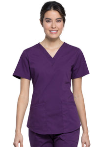 Cherokee Workwear Professionals V-Neck Top
