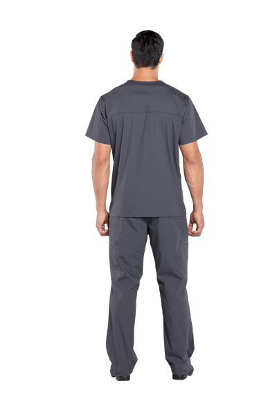 Cherokee Workwear Professionals Men's V-Neck Top - Company Store Uniforms