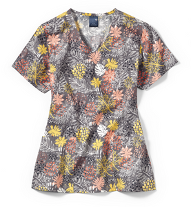 Zoe + Chloe Autumn Love Story Print Top