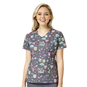 Zoe + Chloe So Owl-Dorable Print Top