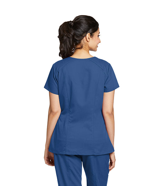 Greys Anatomy Marquis Solid Scrub Top