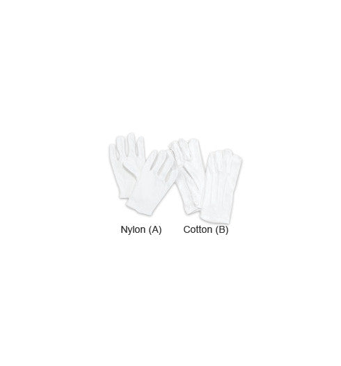Henry Segal White Nylon  Gloves - Company Store Uniforms