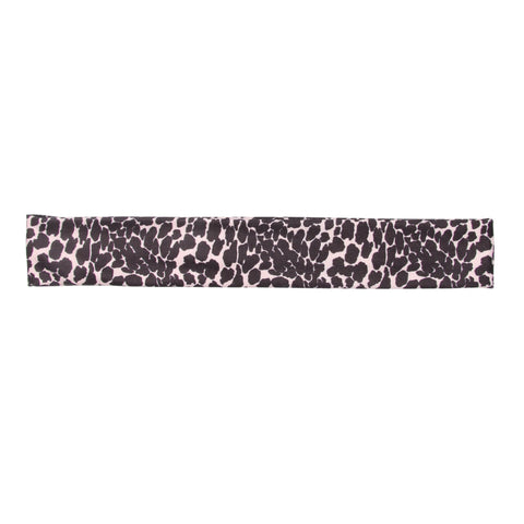 Banded Leopard Noir - Aspire Athletic Headband - Company Store Uniforms