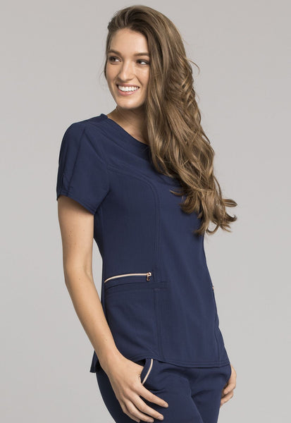 Cherokee STATEMENT V-Neck Top - Company Store Uniforms