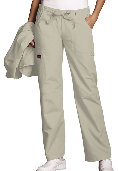 Cherokee Workwear Originals Drawstring Cargo Pant (Petite Length) - Company Store Uniforms