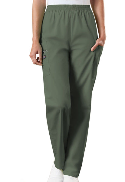 Cherokee Workwear Originals Natural Rise Tapered Pull-On Cargo Pant (Regular Length) - Company Store Uniforms