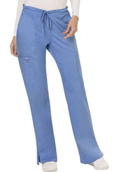 Workwear Revolution Mid Rise Moderate Flare Drawstring Pant