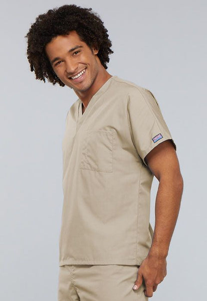 Cherokee Workwear Originals Unisex V-Neck Tunic Scrub Top - Company Store Uniforms