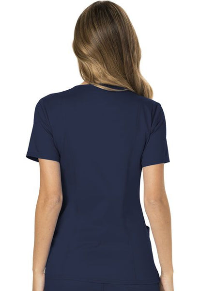 Embroidered Workwear Revolution Mock Wrap Top - Company Store Uniforms