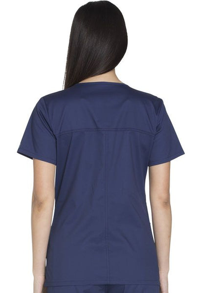 Cherokee Workwear Core Stretch Modern V-Neck Top - Company Store Uniforms