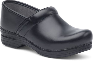 Dansko Women's Professional Clogs in Black Box Leather - Company Store Uniforms