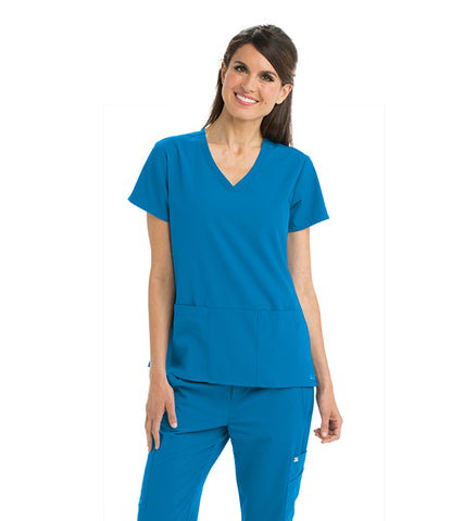Grey's Anatomy Signature 3 Pocket V-Neck Scrub Tops