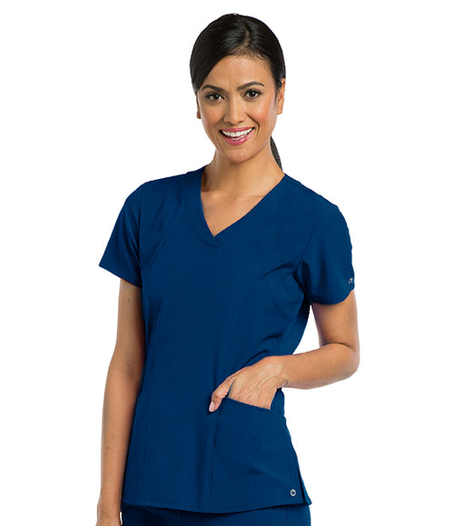 Barco One 5 Pocket Shaped Scrub Top - Company Store Uniforms