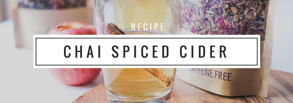 Chai Spiced Apple Cider