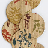 Buttonworks Coasters Set of 6 Flora