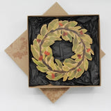 Buttonworks Trivet Gum Wreath Boxed