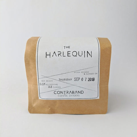 Contraband Coffee Beans - The Harlequin - 250g