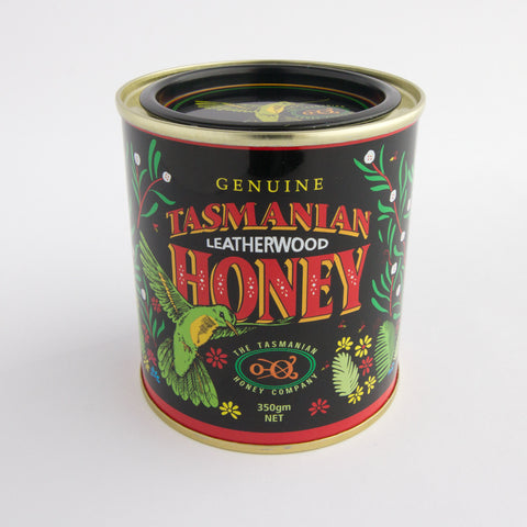 Tasmanian Leatherwood Honey Tin