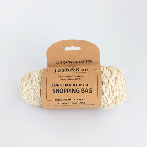 Josh and Sue Eco Bags Mesh Shopping Bag