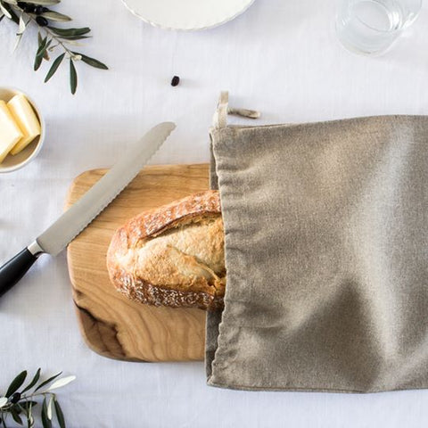 Linen Loaf Bag - Kookery