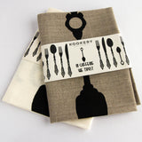 Kookery Tea towel - In Caffeine We Trust