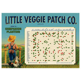 Little Veggie Patch Co Companion Planter Poster Vintage