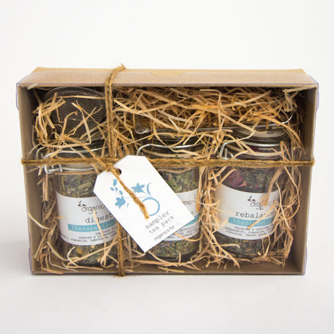 Organics for Lily Tea Sampler Trio Gift Box