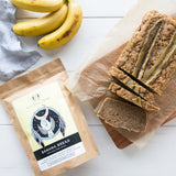 Soulfull Tribe Mix Banana Bread Flatlay