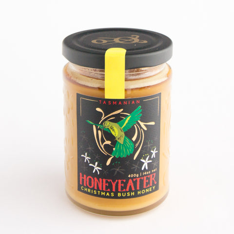 Tasmanian Honey Co Christmas Bush Honey 400g Jar
