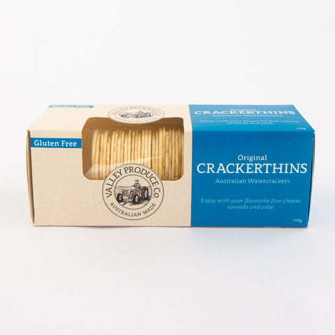 Yarra Valley Produce Crackerthins Original Gluten Free