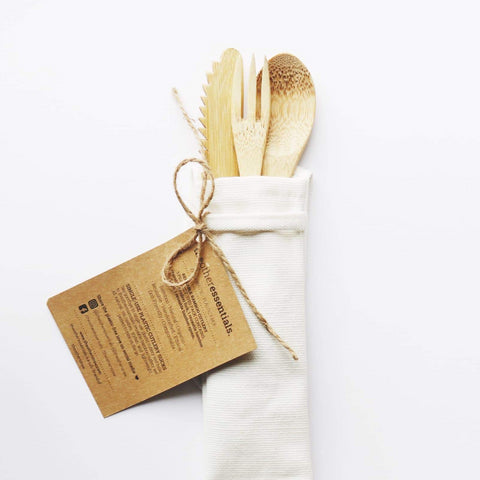 The Other Essentials Bamboo Cutlery Pack