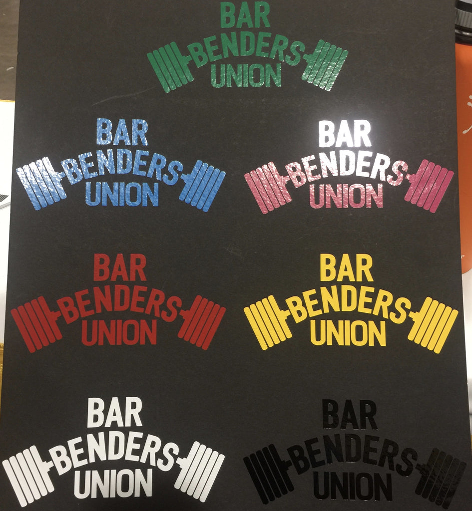 Bar Benders Union Stickers