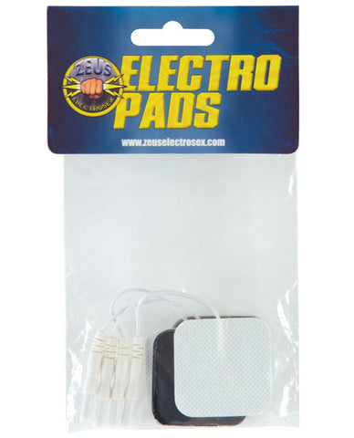 Zeus Adhesive Electro Pads - 4 Pack