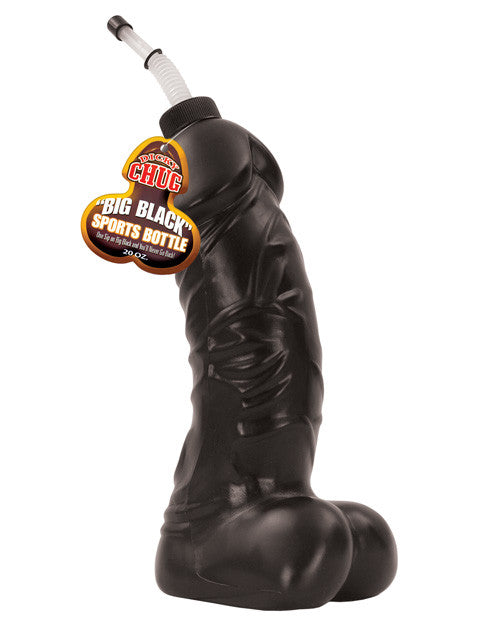 Dicky Chug Big Sports Bottle - 20 Oz Black