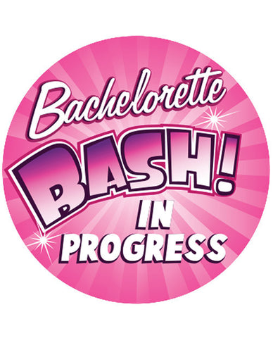 "Bachelorette Bash In Progress  - 3"" Button"