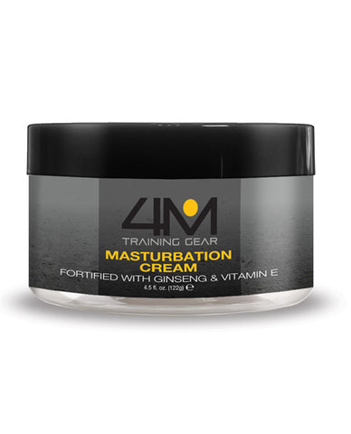 4m Training Gear Endurance Masturbation Cream W-ginseng - 4.5 Oz