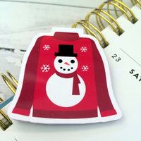 Christmas Jumper Magnetic Bookmark-Christmas Magnetic Bookmark-My Pretty Week
