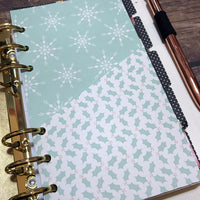 Folder Divider. Divider with Pocket for A5 and Personal Ring Planners, to fit Classic and Mini Size Happy Planners.-Folder Divider-My Pretty Week