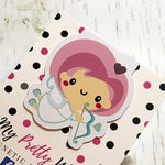 Cupid's Arrow - Valentine Magnetic Bookmark-Magnetic Bookmark-My Pretty Week
