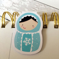 Matroyshka Magnetic Bookmark-Magnetic Bookmark-My Pretty Week