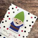 Magnetic Bookmark - Hey Gnomie - Thursday Gnome-Magnetic Bookmark-My Pretty Week
