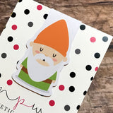 Magnetic Bookmark - Hey Gnomie - Monday Gnome-Magnetic Bookmark-My Pretty Week