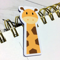 Jovial Giraffe Magnetic Bookmark-Magnetic Bookmarks-My Pretty Week